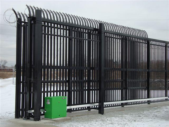 Industrial Fence Amp Gates Eagle Fence British Columbia