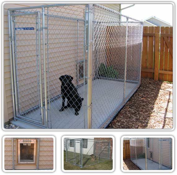 Dog Runs Dog Kennels Eagle Fence British Columbia